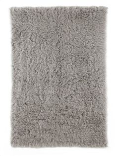 nuLOOM Rugs Natural Grey Hand Woven Genuine Greek Flokati Hand Woven 100% Wool S 5 Round Home Decor Rugs Rugs