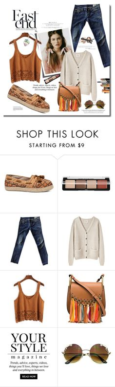 """Chilly Spring Days"" by mslewis6 ❤ liked on Polyvore featuring MAKE UP FOR EVER, Diesel, La Garçonne Moderne, Chloé, Pussycat and Rene"