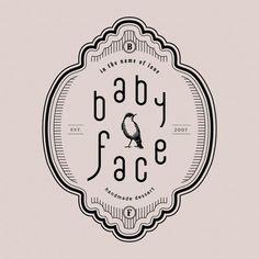 Fun and girly logo design for women. Business Branding, Logo Branding, Branding Design, Logo Typo, Typography Logo Design, Corporate Design, Typographie Logo, Japan Logo, Vintage Logo Design