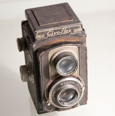1930s Antique Camera Ciroflex TLR decor display by Spiderbot, $30.00