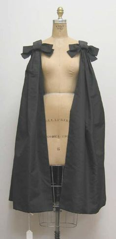 Cocktail Cape House of Dior (French) ca. 1960 silk