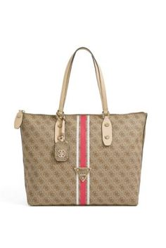 Logo Sport Large Brown Tote | GUESS.com