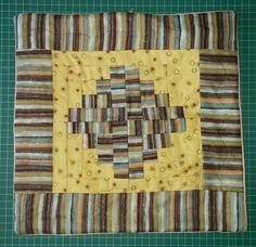 Funda para cojin patchwork 1