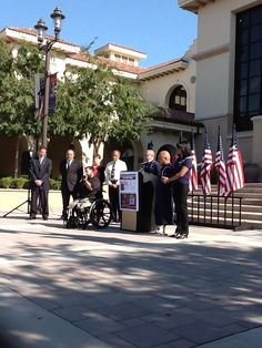 Pressconference Temecla welcome's another  triple amputee war veteran