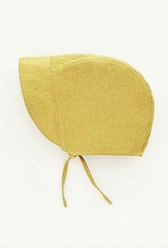 Handmade Linen Baby Bonnet   moonroomkids on Etsy