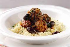 Lamb and Bramley apple Moroccan meatball tagine recipe