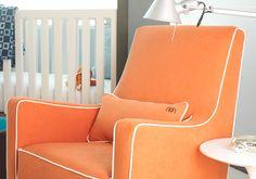 Monte Design Modern Nursery Furniture - Luca Glider #sammi