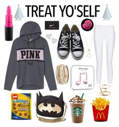 """Treat YOSELF"" by radmad2002 ❤ liked on Polyvore featuring Converse, 10 Crosby Derek Lam, MAC Cosmetics, NIKE, Kendra Scott, Vivienne Westwood, Kate Spade and SOKO"