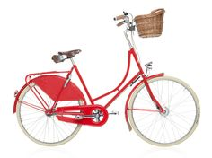Velorbis Danneborg classic red bicycle