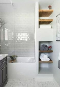 Totally Brilliant Small Master Bathroom Design Ideas 22