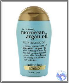 Viagens e Beleza: Estava esquecido: Moroccan Argan Oil, da Organix