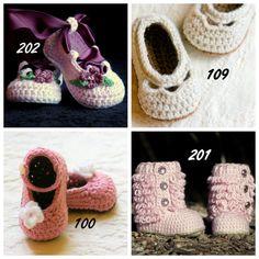 Baby Crochet Pattern Any 4  Crochet Patterns by TwoGirlsPatterns, $17.00