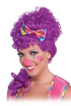 See the world through rainbow eyes wearing the flashy and fun Circus Sweetie Rainbow Costume Eyelashes.