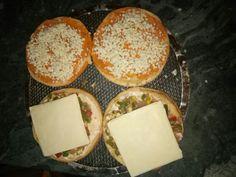 Burger pizza