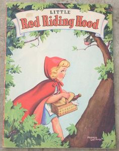 1942 Little Red Riding Hood Book, ill. Mildred Metmore | eBay