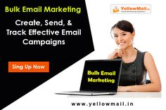 Looking for advanced marketing solutions? Bulk Email Marketing can be your right choice. Know our reliable bulk Email service at http://www.yellowmail.in/