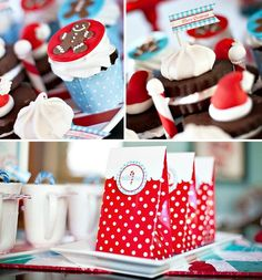 cookie exchange party | More red and turquoise cookie exchange party ideas from Hostess with ...