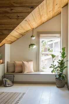 4 Simple and Creative Tips Can Change Your Life: Living Room Paintings Joanna Gaines grey interior painting.Interior Painting Tips Money living room paintings light. Attic Rooms, Attic Spaces, Attic Bathroom, Open Spaces, Attic Renovation, Attic Remodel, Joanna Gaines, Interior Paint Colors, Interior Design