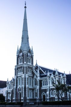 The Dutch Reformed Church, Graaff Reinet Unique Architecture, Ancient Architecture, Rubber Raincoats, London Landmarks, Church Building, Place Of Worship, Old Buildings, Beautiful Buildings, Cathedrals