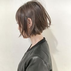 Pin on 髪型 Cut My Hair, Love Hair, Short Hairstyles For Women, Down Hairstyles, Girl Short Hair, Short Hair Cuts, Hair Inspo, Hair Inspiration, Oval Face Haircuts