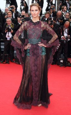 C'est Cannes! - Karlie Kloss in Valentino Cannes 2014