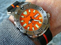 How do you guys like to wear your Seiko Monster? Casual Watches, Cool Watches, Watches For Men, Seiko Marinemaster, Seiko Monster, Camera Watch, Seiko 5 Sports, Seiko Diver, Watch 2