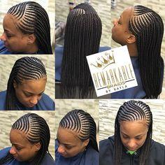 Feed in cornrows in from with singles in the back mid back #likeforlike #braidsinarizona #arizonabraider #feedinbraids #boxbraids #azbraider #like4like #f4f #braiderinarizona♀️