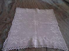 centrinho em crochet
