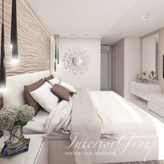 Bedroom Decorating Ideas – The Basics Bedroom Wall Designs, Bedroom Layouts, Home Decor Bedroom, Bedroom Furniture, Home Office Design, Home Interior Design, Design Your Dream House, House Design, Suites