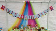 Rainbow Dash Birthday  Custom birthday banner made by Simpleenou