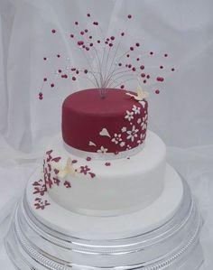 wedding cakes | two-tier-wedding-cakes-2.jpg