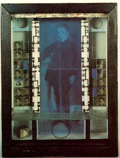 Joseph Cornell – was an American artist and sculptor, one of the pioneers and most celebrated exponents of assemblage. Influenced by the Surrealists, he was also an avant-garde experimental filmmaker. Collages, Collage Artists, Max Ernst, Joseph Cornell Boxes, Box Art, Art Boxes, Photoshop, Assemblage Art, Portraits