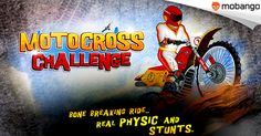 Motocross Challenge - Beat the time and challenge your opponent to win the fast racing championship! Enjoy this exciting racing game on your #Android now: http://www.mobango.com/download-motocross-challenge-games/?track=Q106X2425&cid=1863531