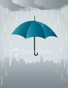Umbrella art added shadowing