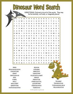 Check out our word search page and create your own puzzles