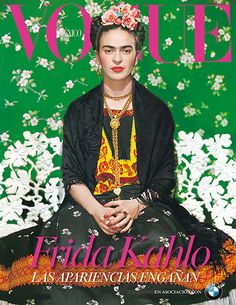 Frida Kahlo Makes the Cover of @Vogue Magazine for the First Time. #vogue