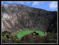 Volcan Irazu, Cartago, Costa Rica.