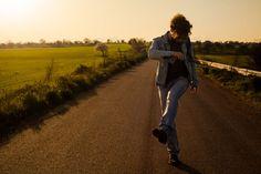 Man On the Road stock photo. Image of copy, orange, road - 38889654 Man Photo, Royalty Free Photos, Country Roads, World, Travel, Image, Joyful, Abstract, Design