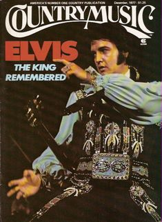 """Elvis Presley …  """"The King of Country Music""""?"""