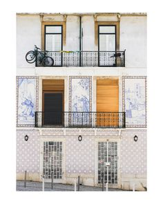 """Tiles of Portugal"" - Art Print by Annie Montgomery in beautiful frame options and a variety of sizes."