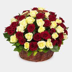 Артикул: 032-48 Состав: 75 роз красного и персикового цвета Размер: Высота 50 см Роза: Выращенная в Украине http://rose.org.ua/tsvety-v-korzine-svezesrezanie/1566-korzina-praga.html #цветы #заказатьцветы #доставкацветов #купитьцветы #цветывкорзине #заказатьцветывкорзине #доставкацветовкиев #цветывкорзине #доставкацветовпоукраине #flowers #SendFlowers #RoseLife