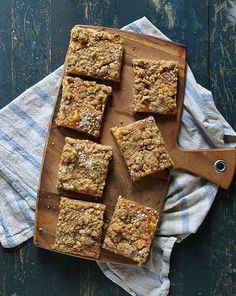 3-Ingredient Almond Butter Granola Bars. They had me at three ingredients. Easy to adapt. I used peanut butter and added chopped dates.