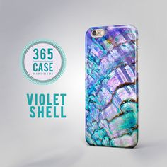 Violet+Shell+Abalone+iPhone+6S+Case+iPhone+6+Case+Pearl+by+365case