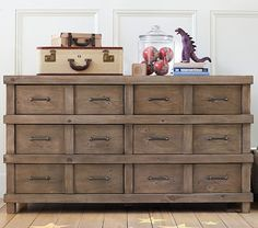 Owen Extra-Wide Dresser | Pottery Barn Kids  Maybe for Jacks room 1200.00