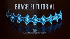 Beaded Star Bracelet Tutorial in Vintage Style by Macrame School