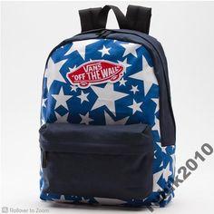 2c248fda15 VANS Plecak Torba szkolna Realm BlueDressStars zUS