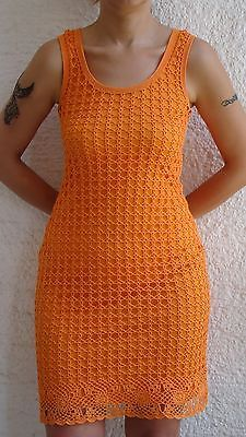 hand-knitted dress