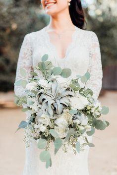 Whimsical Nighttime Nuptials in Malibu, California #Malibu #MalibuWedding #RealWedding #WeddingDress