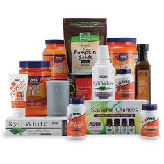 Get prepared for the holidays and the winter months ahead with this Fall Into Health Prize Pack, including: supplements for a healthy immune system, cold-weather comfort foods, sports nutrition, oral hygiene products, aromatherapy essentials, and more! ($279.26 value)