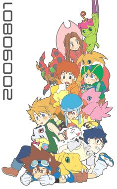 Ah Digimon, good times. Gooood times